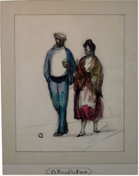 A Couple From Arles