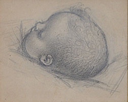 Study of the Head of a Child