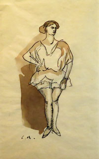 A Music Hall Dancer