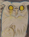 The Owl with the Golden Eyes (Hibou Aux Yeux d'Or)