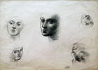 Study of Five Heads