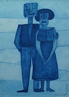 Blue Couple